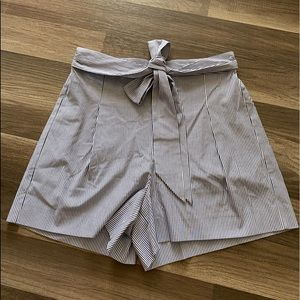NWT J Crew Factory Pleated Tie Short